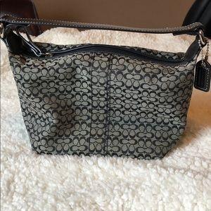 Coach mini shoulder bag/satchel